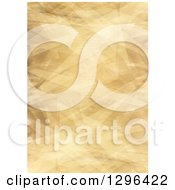 Clipart Of A Background Of Wrinkled Paper Royalty Free Illustration