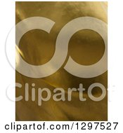 Clipart Of A 3d Gold Flame Texture Background Royalty Free Illustration
