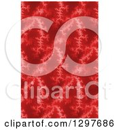 Seamless Red Fratal Background