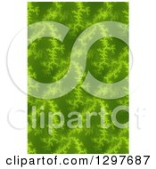 Seamless Green Fratal Background