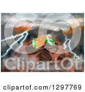 Clipart Of Moses Receiving The Law On Mount Sinai Royalty Free Illustration by Prawny