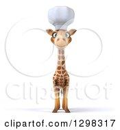 3d Chef Giraffe