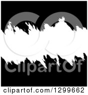 Clipart Of A Black And White Grunge Background With Text Space Royalty Free Vector Illustration
