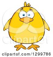 Cartoon Yellow Chick