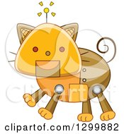 Steampunk Robotic Cat
