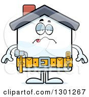 Cartoon Sick Or Drunk Home Improvement House Character