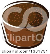 Clipart Of A Rye Bread Royalty Free Vector Illustration