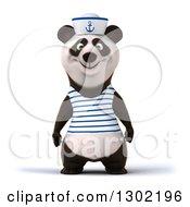 3d Happy Sailor Panda
