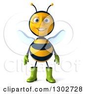 3d Happy Gardener Bee