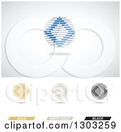 Clipart Of Abstract Elegance Themed Diamonds With Lines And Shadows Royalty Free Vector Illustration