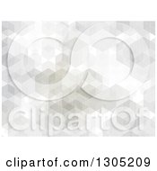 Clipart Of A Cubic Abstract Geometric Background Royalty Free Vector Illustration by KJ Pargeter