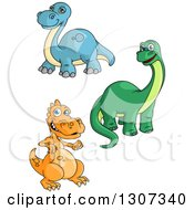Cartoon Dinosaurs