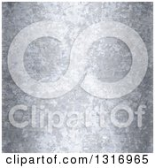 Clipart Of A Seamless Galvanized Metal Texture Background Royalty Free Illustration