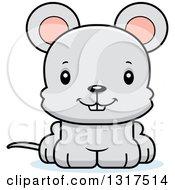 Cartoon Cute Happy Mouse
