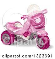 Girls Pink Trike Toy