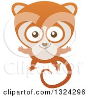 Cartoon Baby Lemur