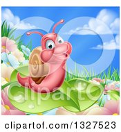 Royalty-Free (RF) Snail Clipart, Illustrations, Vector ...