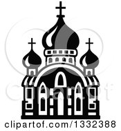 Black And White Church Building 12
