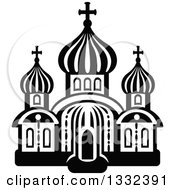 Black And White Church Building 15