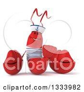 3d Sailor Lobster