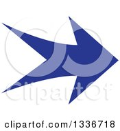 Clipart Of A Blue Arrow App Icon Button Design Element 6 Royalty Free Vector Illustration