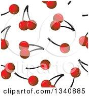 Seamless Cherry Background