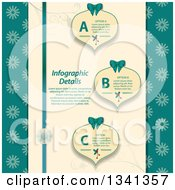 Clipart Of Infographic Christmas Ribbons And Baubles With Sample Text Royalty Free Vector Illustration by elaineitalia