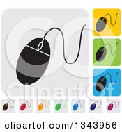 Clipart Of Rounded Corner Square Computer Mouse App Icon Design Elements Royalty Free Vector Illustration by ColorMagic