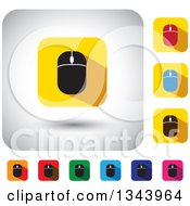 Clipart Of Rounded Corner Square Computer Mouse App Icon Design Elements 2 Royalty Free Vector Illustration by ColorMagic