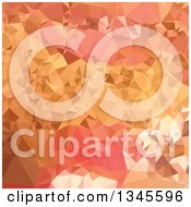 Clipart Of A Low Poly Abstract Geometric Background Of Wild Orchid Royalty Free Vector Illustration