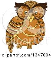 Cute Brown Owl