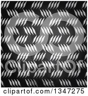 Background Of Scratched Diamond Plate Metal