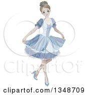 Halloween Zombie Cinderella Curtsying