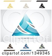 Clipart Of Abstract Letter S Logo Design Elements Royalty Free Vector Illustration by cidepix