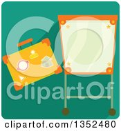 Clipart Of A Square Magic Trick Icon Royalty Free Vector Illustration