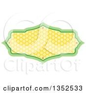 Green And Yellow Polka Dot Frame