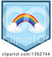 Blue Rainbow Icon