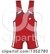 Clipart Of A Wrestling Outfit Royalty Free Vector Illustration