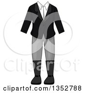 Clipart Of A Equestrian Outfit Royalty Free Vector Illustration by BNP Design Studio