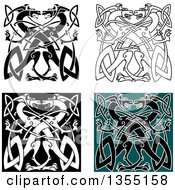 Celtic Knot Dragons
