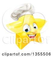 3d Happy Golden Chef Star Emoji Emoticon Character