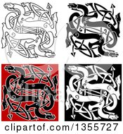 Celtic Dragon Knots