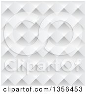 Clipart Of A Seamless Background Of Pyramids Or Diamonds Royalty Free Vector Illustration
