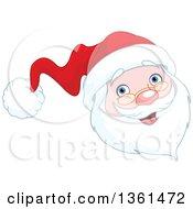 Jolly Christmas Santa Face
