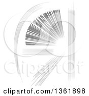 Clipart Of Comic Manga Action Speed Line Design Elements Royalty Free Vector Illustration