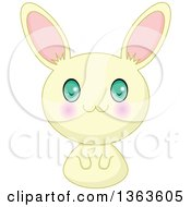 Cute Yellow Manga Anime Bunny Rabbit