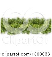 Green Fir Tree Christmas Garland