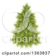 3d Bare Christmas Tree