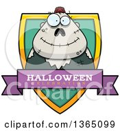 Halloween Zombie Halloween Celebration Shield