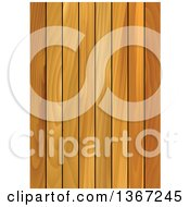 Clipart Of A Background Of Wood Panels Royalty Free Vector Illustration